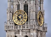 Clock Tower, Church, Cathedral Royalty Free Stock Images