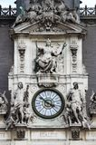 Clock tower of the City Hall of Paris. France Stock Photos