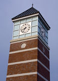 Clock Tower with Clipping Path Stock Photos
