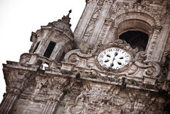 Clock Tower in Compostela Stock Photos