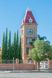 Clock tower, Department of Public Works, Kimberley Royalty Free Stock Images