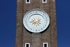 Clock Tower Detail Stock Photos