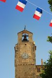 Clock Tower, Dieulefit, Provence, France Stock Images