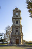 Clock Tower from Dolmabahce Palace, Istanbul Stock Photo