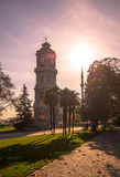 Clock Tower from Dolmabahce Palace, Istanbul Stock Photography