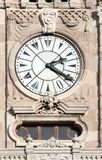 Clock on tower in dolmabahce palace - istanbul Stock Photography