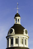 Clock tower dome Royalty Free Stock Photography