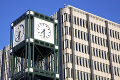 Clock Tower in downtown Memphis Stock Photography