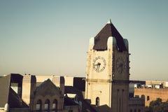 Clock Tower in downtown Savannah Stock Photo