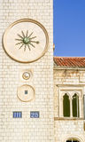 Clock Tower in Dubrovnik, Croatia Royalty Free Stock Image