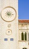 Clock Tower in Dubrovnik, Croatia Royalty Free Stock Image