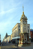 Clock Tower in Early Morning, Brighton, England UK. Royalty Free Stock Photos