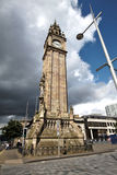 Clock tower english style in Belfast Stock Images
