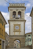 Clock Tower in Este Stock Photos