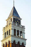Clock Tower - Everland theme park in Korea. Royalty Free Stock Image