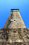 The clock tower, Galle Fort on the background of blue sky Royalty Free Stock Photo