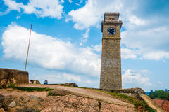 Clock tower in Galle Stock Photos