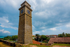 Clock tower in Galle Royalty Free Stock Images