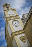 Clock tower of gallipoli italy Royalty Free Stock Photo