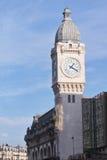 Clock tower - Gare de Lyon - Paris - France Royalty Free Stock Images