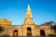 Clock Tower Gate Royalty Free Stock Images