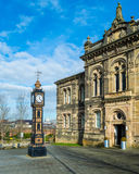 Clock Tower A Gateshead Old Town Hall Stock Photo