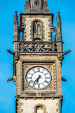 Clock tower in Gent, Belgium Stock Images