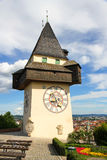Clock tower of Grace Royalty Free Stock Photography