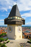 Clock tower of Grace Royalty Free Stock Photos