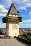 Clock tower of Grace Stock Image