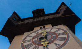 The clock tower. Of Graz, Austria Stock Photography