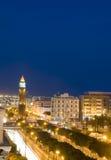 Clock Tower Habib Bourguiba Tunis Tunisia Stock Photography