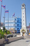 Clock tower Hat Yai Stock Photo