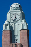 Clock tower. Helsinki, Finland Stock Photos