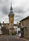 Clock tower hey on wye monmouthshire wales uk Stock Image