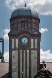 Clock Tower historic guildhall Coal Mine Bielszowice. Built between 1896 -1904 by the State of Prussia, clock Tower historic guildhall Coal Mine Bielszowice in Stock Photos