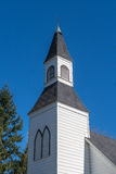 Clock Tower of the Historic Milner Chapel in Langley British Columbia Stock Photos