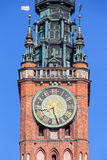 Clock on the tower Stock Photos