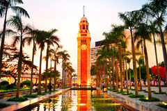 Clock Tower in HK Royalty Free Stock Photography