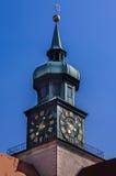 Clock Tower in Hofgarten Munich Royalty Free Stock Photography