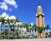 Clock tower in Hong Kong Royalty Free Stock Photo