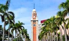 Hong Kong Clock Tower Royalty Free Stock Photos