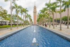 Clock Tower in Hong Kong Royalty Free Stock Photography