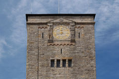 Clock tower of Imperial Castle in Poznan, Poland Stock Photography