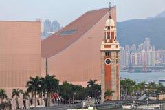 Clock Tower In Tsim Sha Tsui Stock Photos