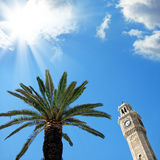 Clock tower in Izmir Stock Photos