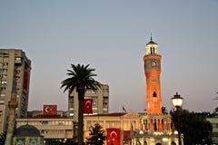 Clock Tower, Izmir. The famous clock tower of Izmir, Turkey Royalty Free Stock Images