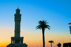 Clock Tower, Izmir. The famous clock tower of Izmir, Turkey Stock Images