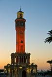 Clock Tower, Izmir. The famous clock tower of Izmir, Turkey Stock Image