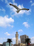 Clock tower in Izmir Royalty Free Stock Photography